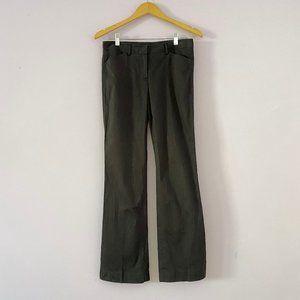 Theory Black Cotton Wide Leg Pants Size 4